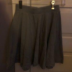 Gray Mini skirt XSMALL